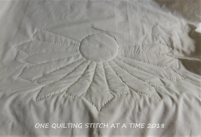 Hand Quilting One Quilting Stitch At A Time