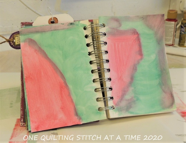 Prepped Art Journal Page 1