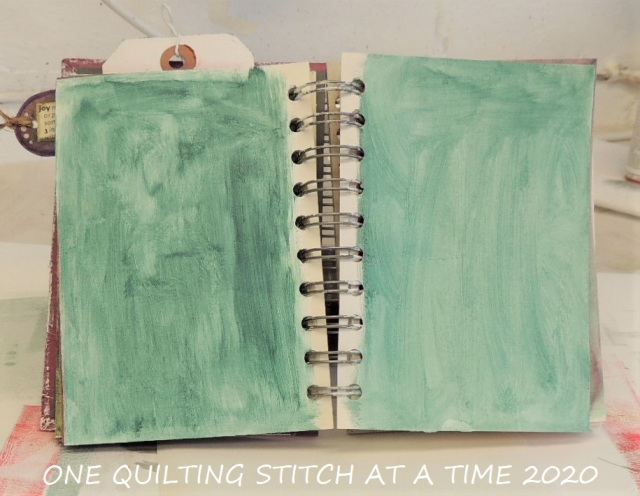 Prepped Art Journal Page 2