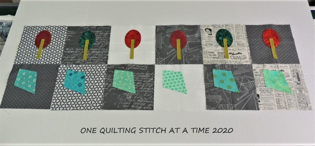 Row Quilt 1